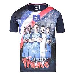 Equipe de FRANCE de football Maillot Team FFF - Collection Officielle Taille Enfant garçon