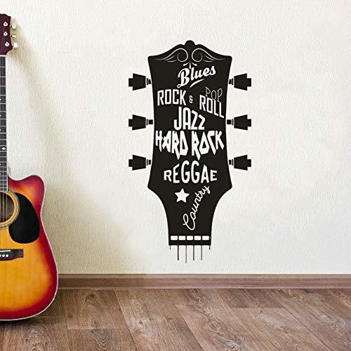xingbuxin Guitarra Vinilo Etiqueta de la Pared Jazz Blues ...