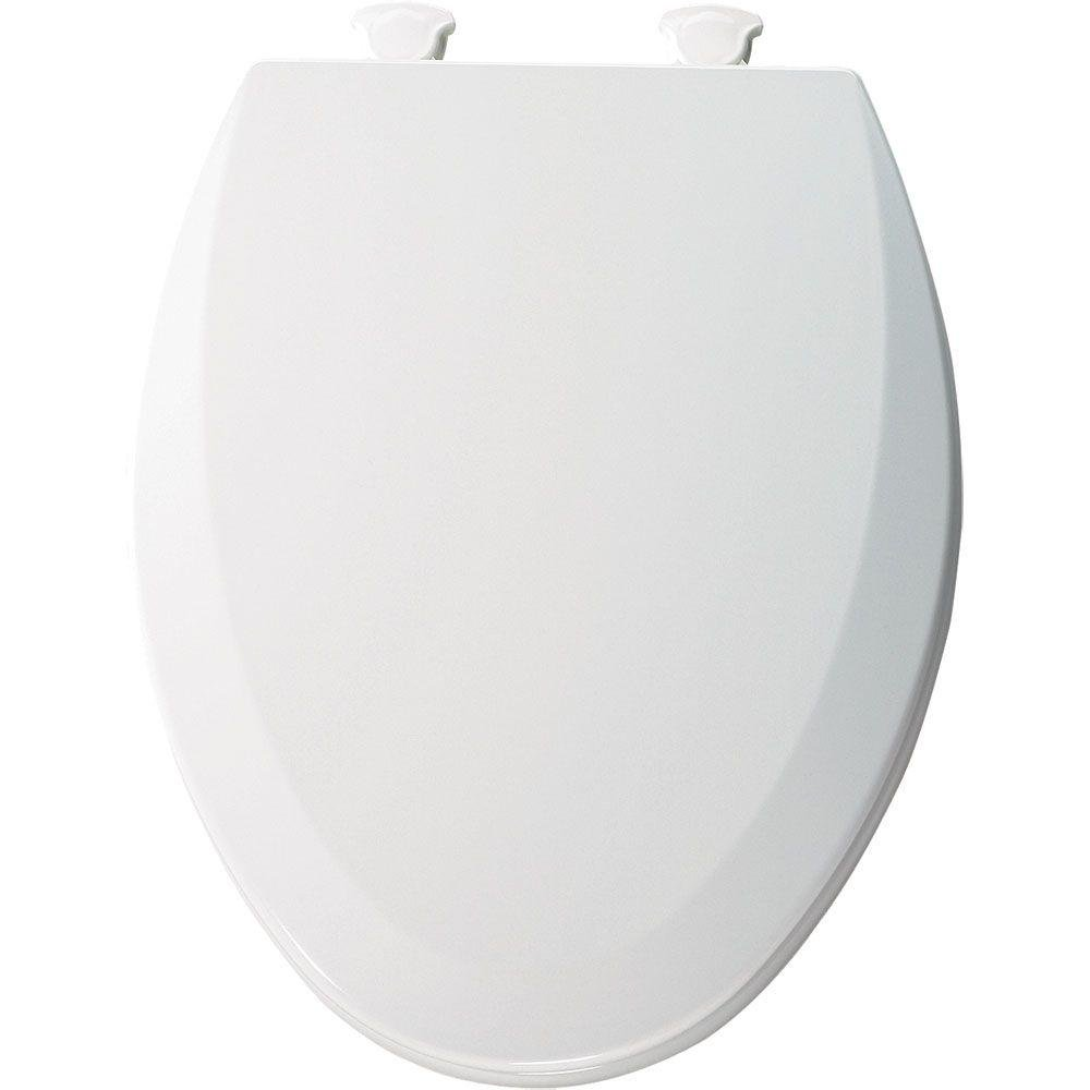 long toilet seat covers. Bemis 1500EC000 Molded Wood Elongated Toilet Seat With Easy Clean and  Change Hinge White Amazon com