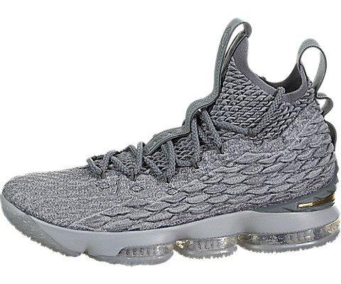 "8f227d68c4af Galleon - Nike Men s Lebron XV ""City Series"" 897648-005 Wolf Grey Metallic  Gold (10.5)"