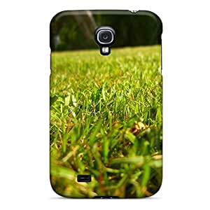 New DonaldWS Super Strong Home Grass Tpu Case Cover For Galaxy S4