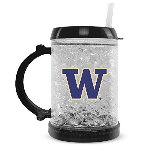 - NCAA Washington Huskies 8oz Junior Crystal Freezer Mug with Lid and Straw