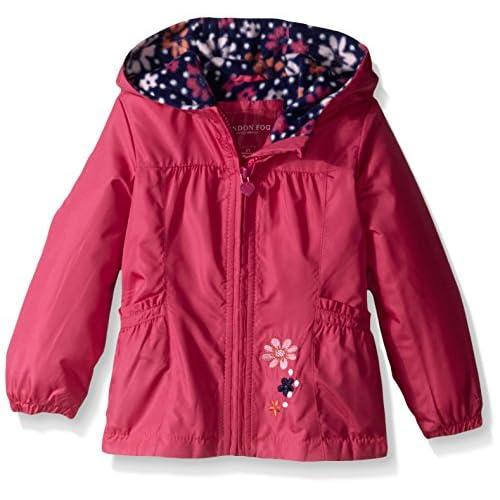 London Fog Girls Perfect Fleece Lined Jacket