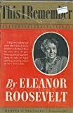 This I Remember, Eleanor Roosevelt and Eleanor Roosevelt, 0837177022