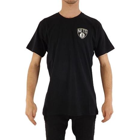 A NEW ERA Camiseta New Era – NBA Brooklyn Nets Tip Off Chest N Back Negro
