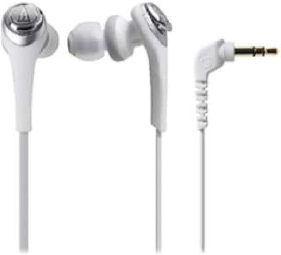 Audio Technica SOLID Max 75% OFF BASS Inner ATH-CKS550 White Headphones 25% OFF Ear