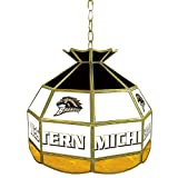 NCAA Western Michigan University Tiffany Gameroom Lamp, 16''
