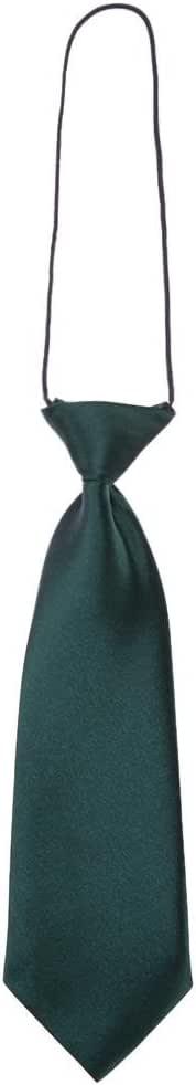 Domybest - Corbata - para niño Verde De Color Verde Oscuro Talla ...