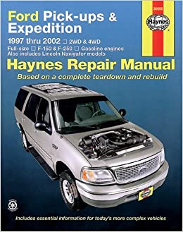 Ford pickups expeditions 1997 2002 haynes manuals chilton ford pickups expeditions 1997 2002 haynes manuals chilton 9781563924682 amazon books fandeluxe Gallery