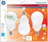 GE Lighting 78938 Energy Smart CFL 11-Watt