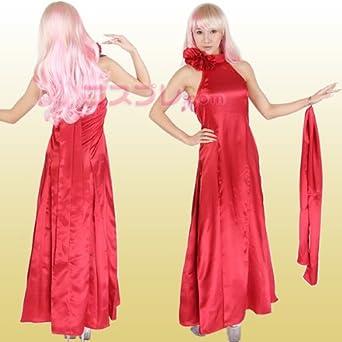 3227cf836ddca  激安 コスプレ マクロスフロンティアシェリル ドレス風赤 Sサイズ z127