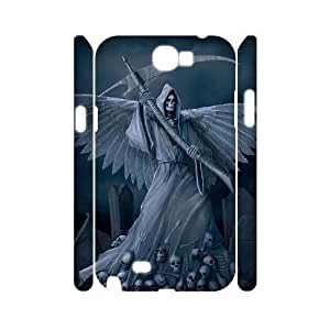 ALICASE Hard case Grim Reaper 3D Diy For Samsung Galaxy Note 2 N7100 [Pattern-1]