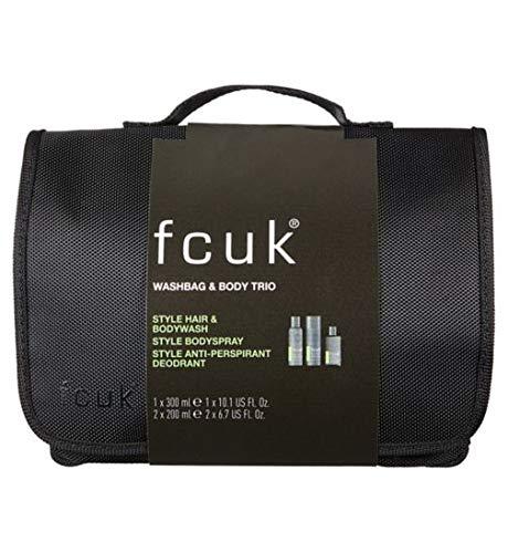 7e85f20e7c5 FCUK Style Washbag & Body Trio Gift: Amazon.co.uk: Kitchen & Home
