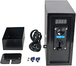 Enshey Coin Timer Control Box - Coin Operated Timer Control Box Electronic Device Coin Selector Acceptor Timer (Shipping from USA)