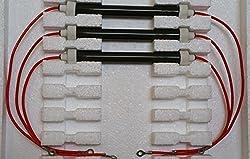 Set of 3 OEM Bulbs/Heating Elements Complete KIT for 900 Watt Heaters EdenPURE 500 XL GEN3 500 and More
