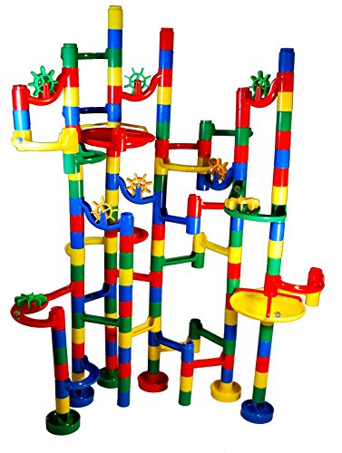 MMP Living Marble Madness - Super Deluxe 120 pc. Marble Run -