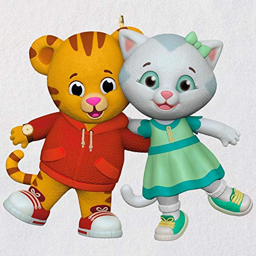 (Hallmark Keepsake Christmas Ornament 2018 Year Dated, Tiger's Neighborhood Daniel and Katerina)