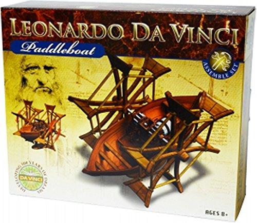 S.T.E.A.M. Line Toys Elenco Leonardo da Vinci Edu-Science - Paddleboat Assemble Set New
