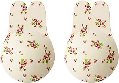 Comfyin Soutien-Gorge Nipplecovers Push-up Adh/ésif /à Dos Nu sans Bretelles pour Les Femmes