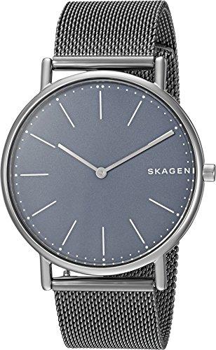 Skagen Titanium Watch - Skagen Men's Signatur Analog-Quartz Watch with Titanium Strap, Grey, 20 (Model: SKW6420)