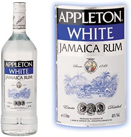 Appleton White 40% Ron blanco: Amazon.es: Bebé
