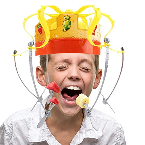 MAILE Family Game Hat Funny Tricky Party Crown Type Toys Electronic Spinning Crown Snacks Food Game for Kids Adults by MAILE (Image #5)