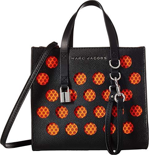 Marc Jacobs Women's Mini Grind Tote, Black Multi, One Size - Marc Jacobs Multi Pocket Handbag