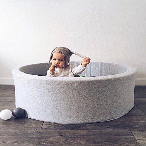 Banbie8409 Round Play Pool Toddler Baby Ball Pool Anti Stress Ocean Ball Funny Playground