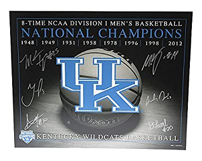 Kentucky 2012 National Champions Including Davis Lamb Jones Kidd-Gilchrist Autographed 16x20 Photo Kentucky Wildcats - Certified Authentic