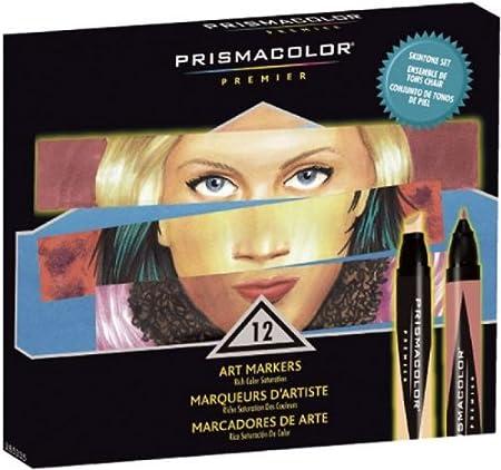 Amazon Com Prismacolor Marker Set 12 Skin Tone Garden