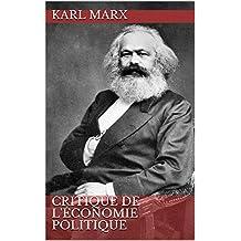 Critique de l'économie politique (French Edition)