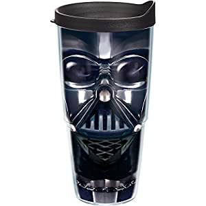 Tervis Star Wars Darth Vader Tumbler with Black Lid, 24-Ounce