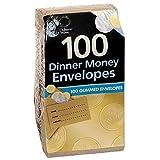 Dinner Money Envelopes Pack 100