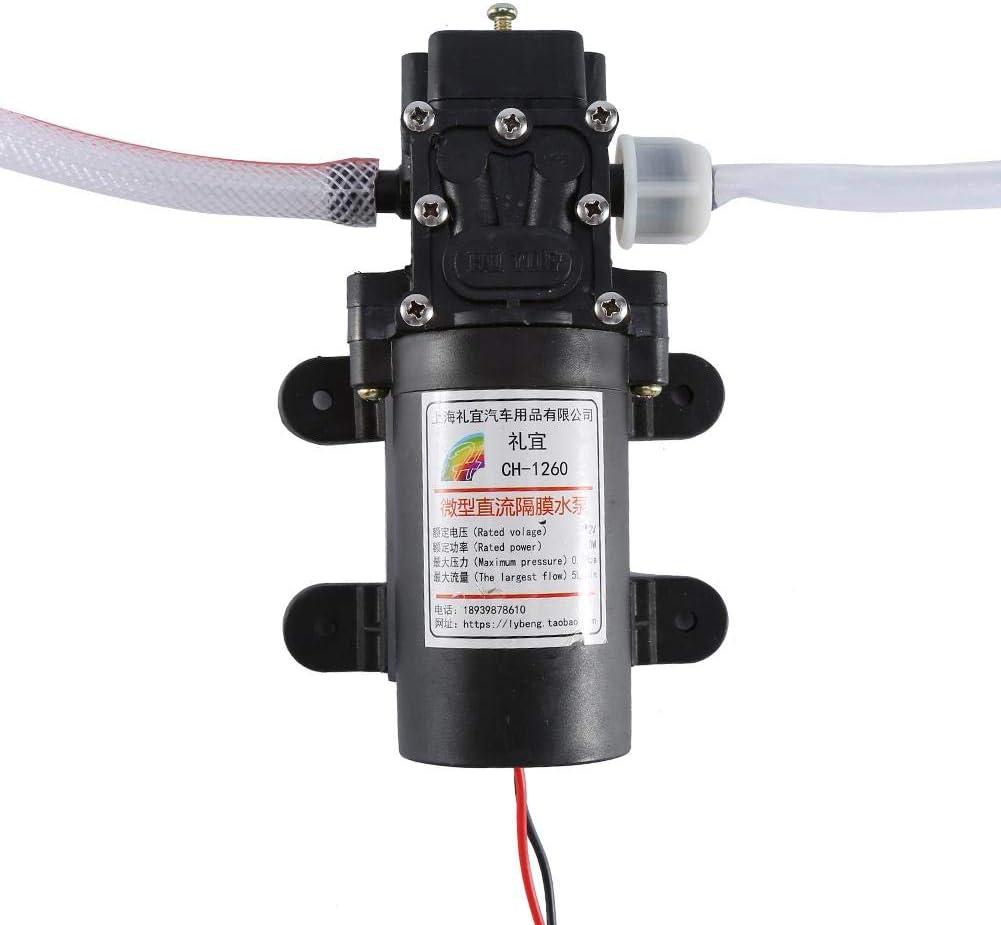 Bomba aceite 12V 60W 0.8MPA, Kit de bomba de extracción de aceite eléctrico, bomba de transferencia para trasvasar gasoil/petróleo/fluido/líquido