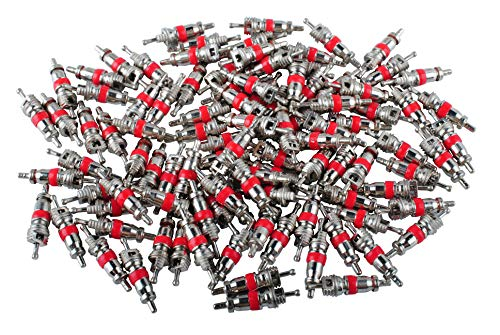 (Femitu Car Truck Replacement Tire Tyre Valve Stem Core Part 100 Pcs)