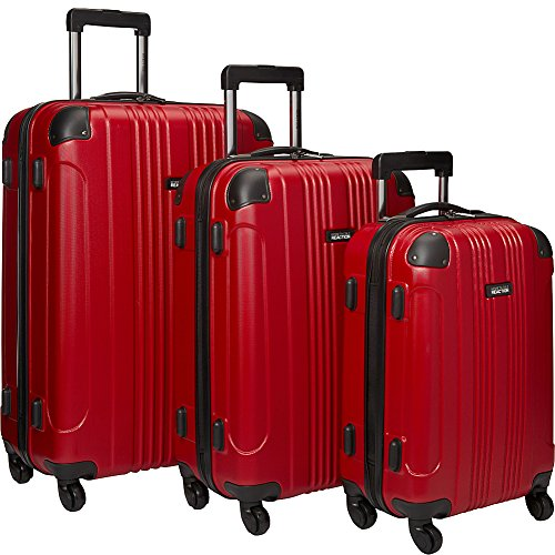 Upright Roller Luggage (Kenneth Cole Reaction Out of Bounds Luggage 4-Wheel Abs 3-Piece Nested Set: 20