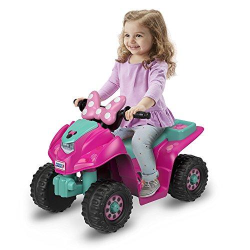 Power Wheels Disney Junior Minnie Lil' Quad Lil Quad Ride On