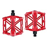 5 Colours Aluminum Alloy Bicycle Cycling Bike Pedal for Mountain and Road