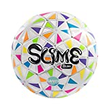 GLORY Sports Soccer Ball Size 3 Toddler/Kid -Soft TPU -Colorful Design
