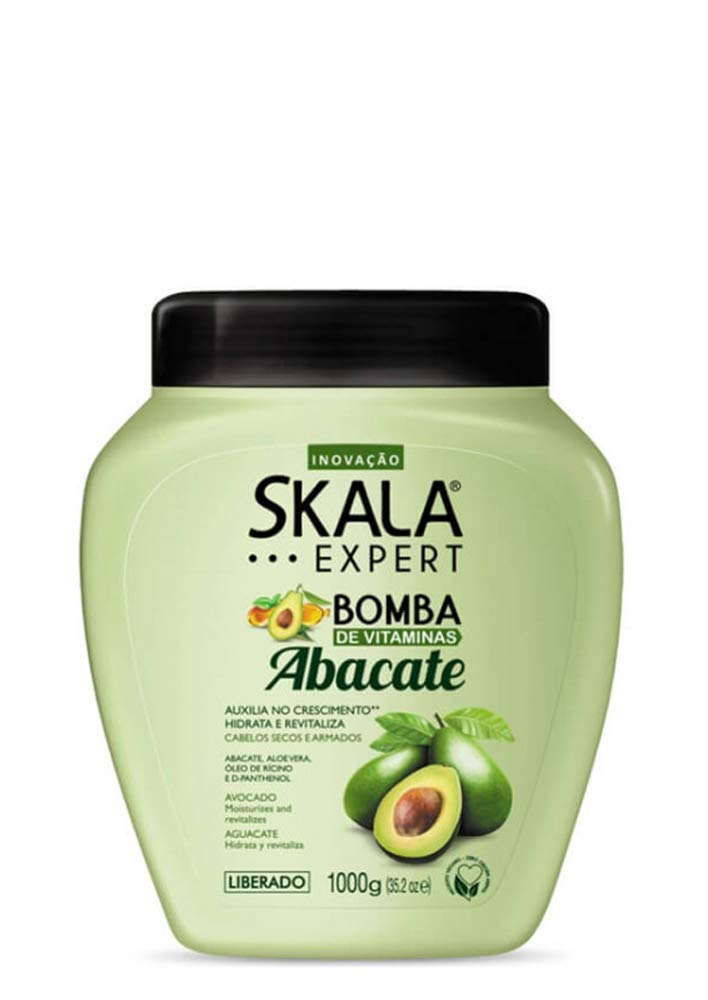 Skala professional abacate (Avocado)Hair Treatment ...