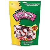 Dingo Goof Balls Treat Small 30 Count (2 Pack of 15 Count), 4.2 OZ