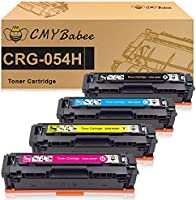 CMYBabee Compatible Toner Cartridge for Canon 054 054H CRG-054 High Capacity for Canon MF644Cdw MF642Cdw MF640C...