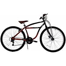 27.5 Columbia Klunker Mountain Bike - Black/Red/Brown