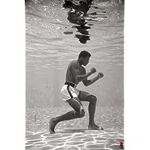 Muhammad Ali Under Water Sports Poster Print - 24x36