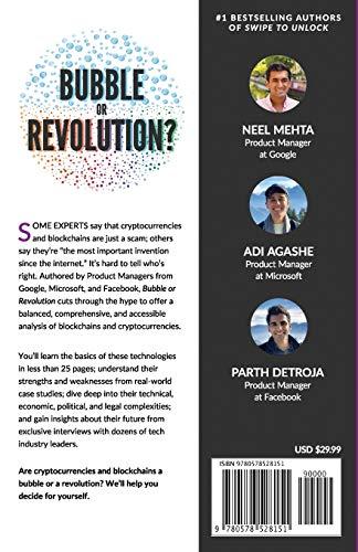 Blockchain Bubble or Revolution Book