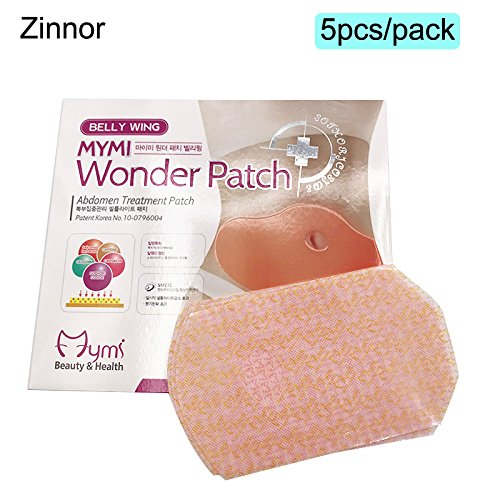 Zinnor Belly Slimming Patch,Wonder Slim Patch Burn Fat Belly Abdomen Slimming Patch,Contouring Slimming Ultimate Body Wrap Weight Loss Patch for People Who Wanna Be Thin & Beautiful