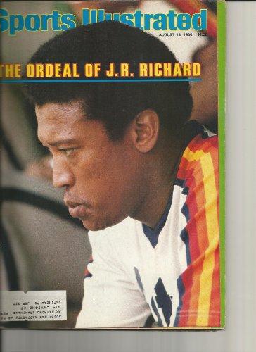 - Sports Illustrated August 18 1980 JR Richard Astros MLB