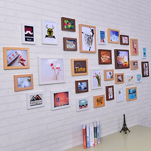WUXK 31 Box minimalist modern living room photo wall decoration wall European creative wall photo wall combination, 1 by WUXK
