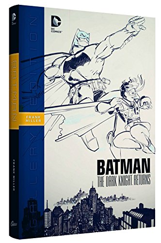 BATMAN DARK KNIGHT RETURNS GALLERY EDITION HARDCCOVER