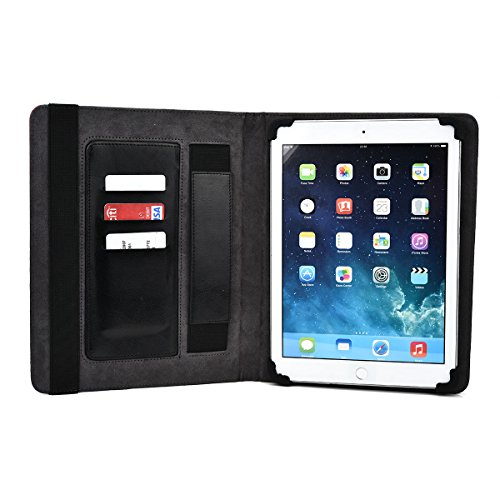KroO's Limited Edition PRO-Folio Tablet case. Internal card slot and self supporting stand. Copper Brown and Red Universal design to fit iPad 4th Gen (Wi-Fi Only) A1458 | iPad 3rd Gen (Wi-Fi Only) A1416